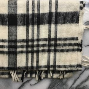 La Maison Simons soft plaid scarf